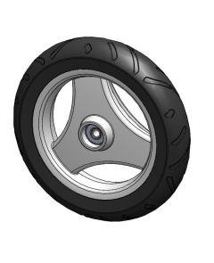 Street wheel front, unit