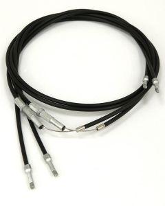 Brake cable, pair