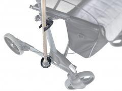 Crutch holder, black