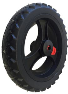 Studded tyres (2 rear wheels)