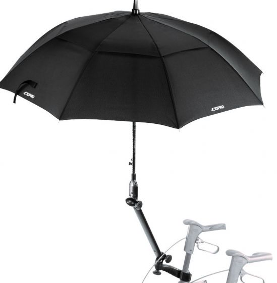 Umbrella with attachment