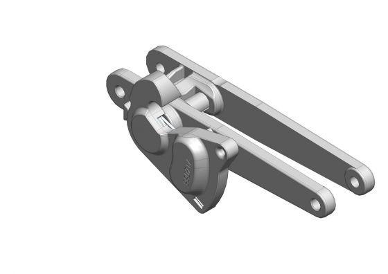 Topro Underseat Locking mechanism