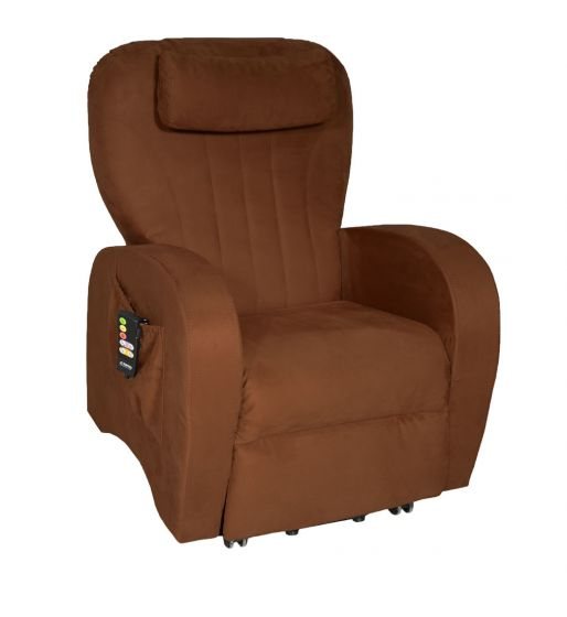 TOPRO Verona Rise and Recline Chair Microfibre